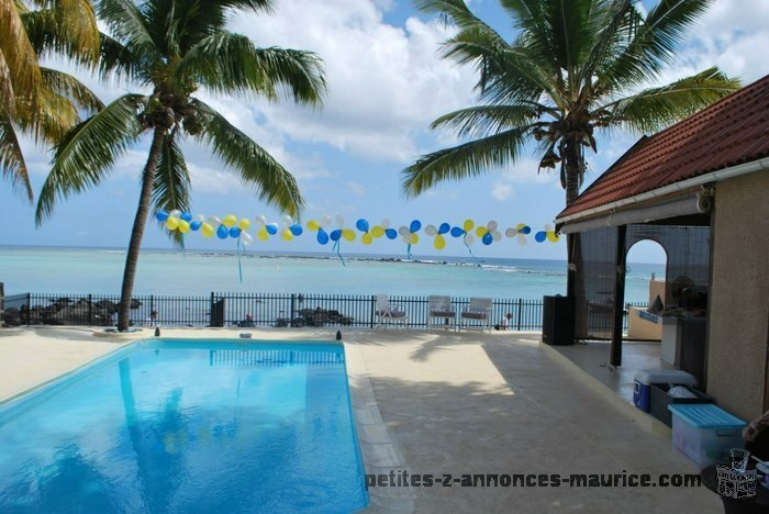 Beachfront villas for rent at Flic en Flac