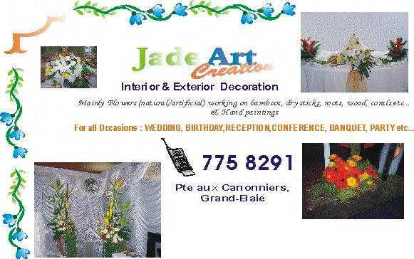Bouquet of flowers and decorative interior budjet for all .