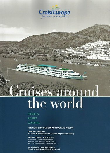CRUISES AROUND THE WORLD / Worldwide Vacation and Holiday Package - International River Cruising
