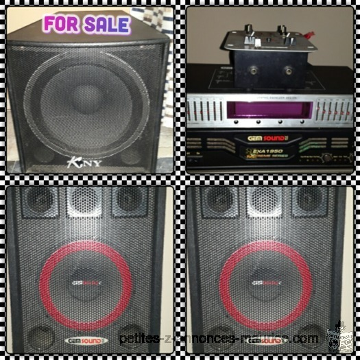 DJ P.A for sale