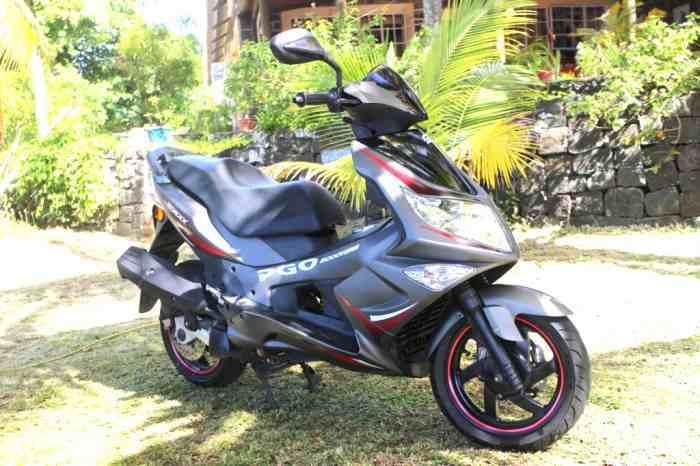 For sale PGO GMAX 125cc - Nov 2009