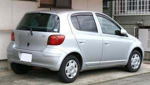 For sale, a Toyota Vitz
