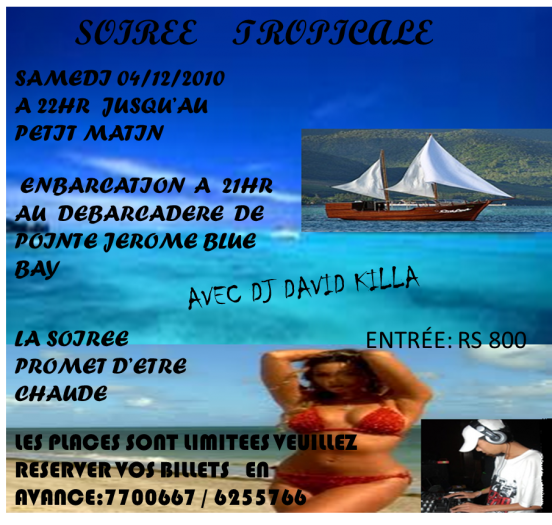 GREAT PARTY ON THE SAIL BOAT ONE LOVE WITH DJ DAVID KILLA