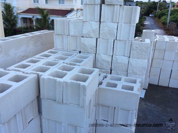 Imported stone blocks
