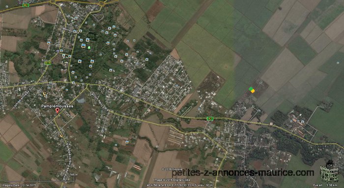 Land for sale at Pamplemousses