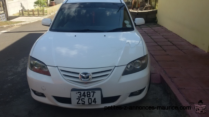 OCCASION DUE TO DEPARTURE MAZDA AXELA