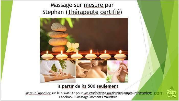 Tailor made massage