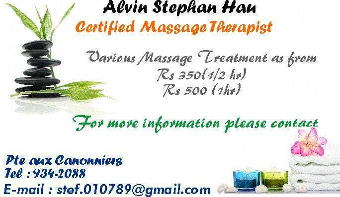 body massage treatment