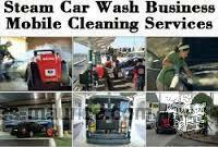 mobile steam cleaning services for home, vehicles, boats, clinics ,kindergarden etc