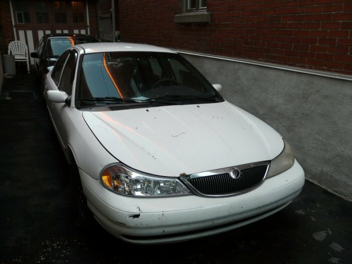 sell white ford mercury mystique