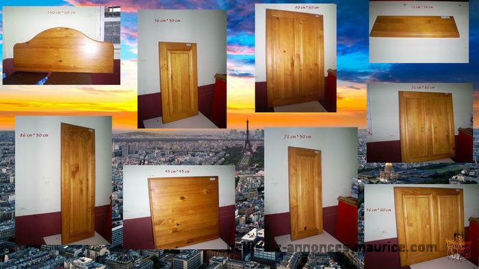 A Vendre Portes Pour Placards En Bois De Pin ( D'Afrique Du Sud )