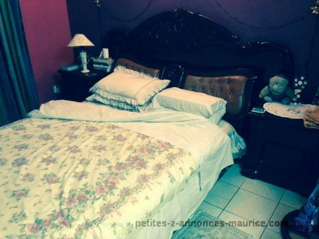 A vendre set meubles chambre a coucher (seconde main)