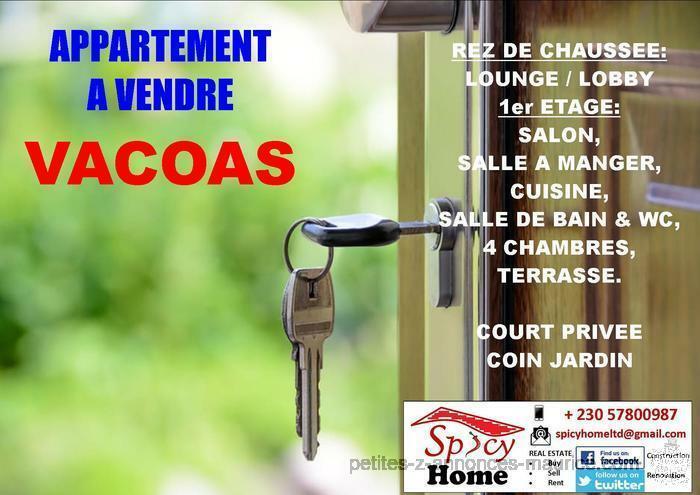 Appartement a Vendre Vacoas
