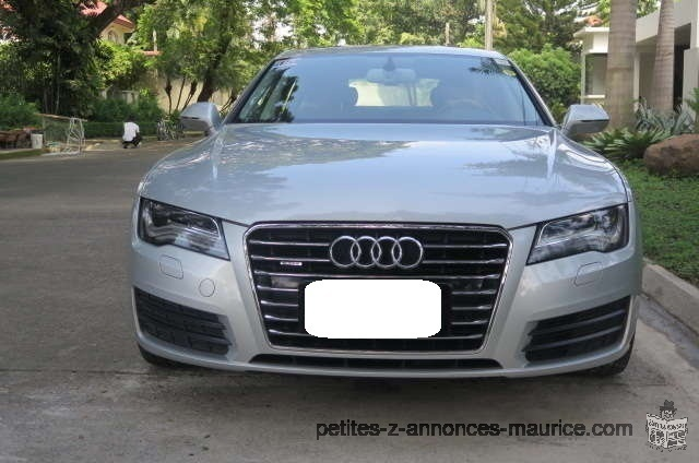 petite annonce audi a7 2013 maurice voiture d 39 occasion. Black Bedroom Furniture Sets. Home Design Ideas