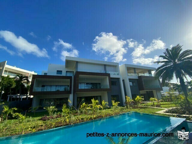 BEL APPARTEMENT NEUF MODERNE PROCHE MER A POINTE AUX CANONNIERS – ILE MAURICE