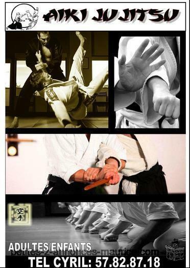 COURS D' AIKI-JU JITSU A GRAND BAIE