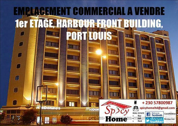 Emplacement Commercial a Vendre 1er etage Harbour Front Building Port Louis