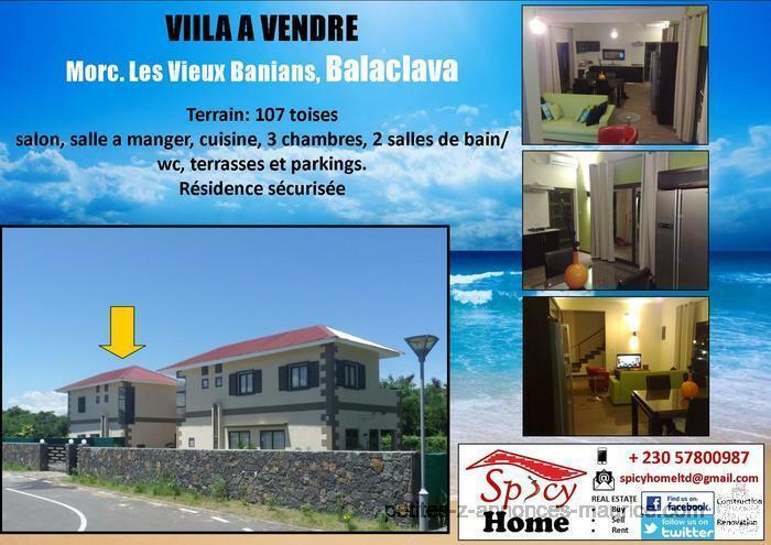 Jolie Villa a Vendre Balaclava