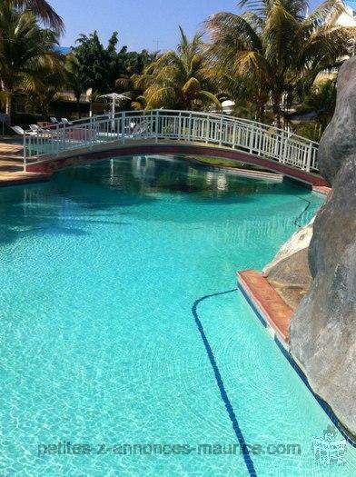 petite annonce location campement bungalow gites villa ile On campement a flic en flac avec piscine