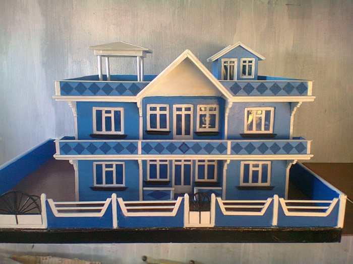 Maquette maison en bois a vendre