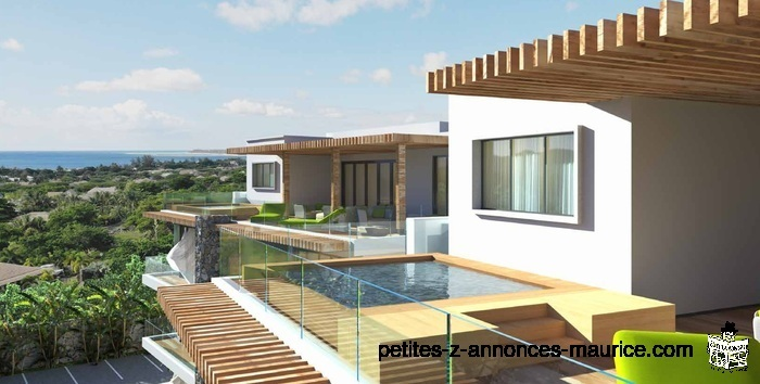 SOMPTUEUX PENTHOUSES VUE MER ET PROCHE MER A TAMARIN – ILE MAURICE