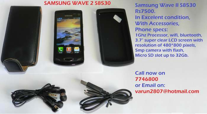 Samsung Wave 2 a vendre
