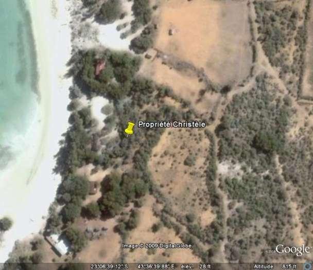 Terrain à vendre au Nord de Mangily Tuléar