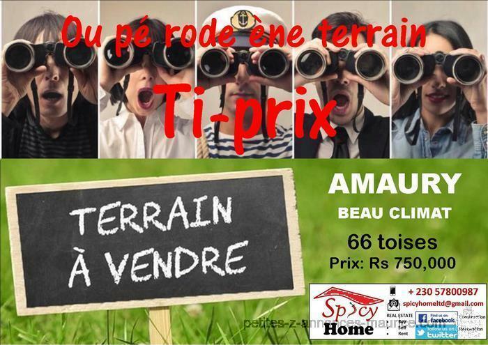 Terrain a Vendre Amaury, Beau Climat