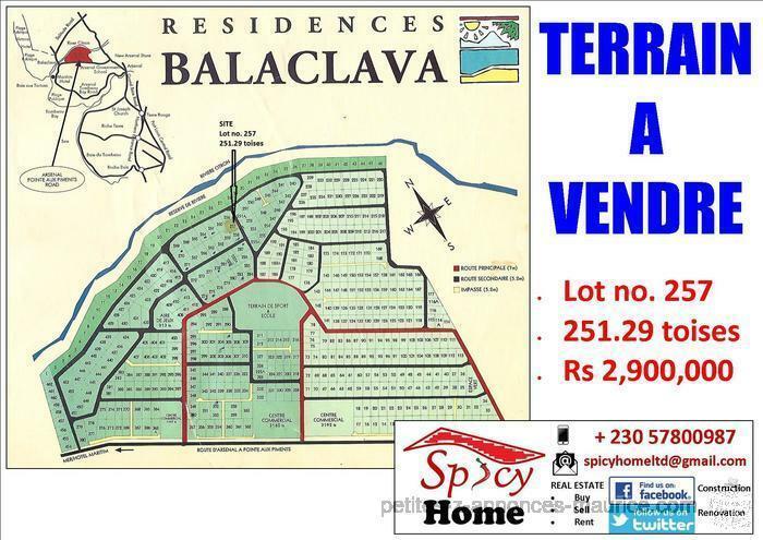 Terrain a Vendre Balaclava