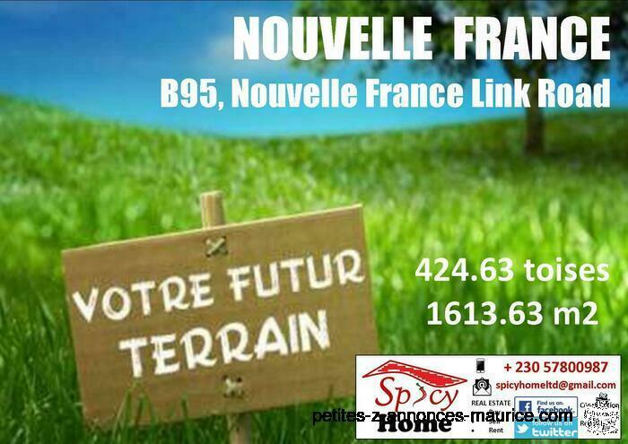 Terrain a Vendre Nouvelle France