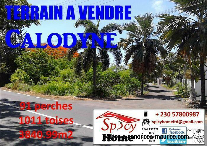 Terrain a Vendre St Francois , Calodyne