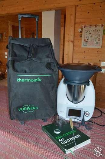 Thermomix tm5 sous garantie à saisir