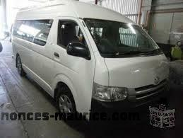 Toyota hiace high roof for sale