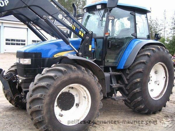 Tracteur New Holland TM 155 et son chargeur