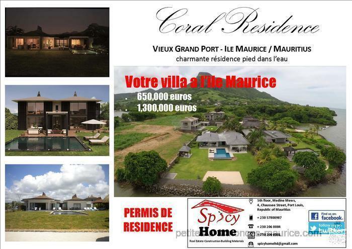 Villa a Vendre, Vieux Grand Port