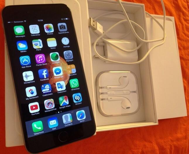 iPhone 6 Plus 16gb très bon état