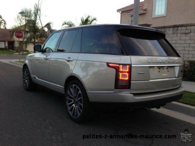 vend mon Range Rover 2013