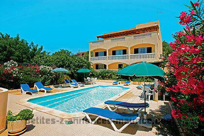 villa avec piscine privé algarve sud du portugal